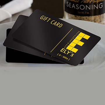 Gift Card Feature